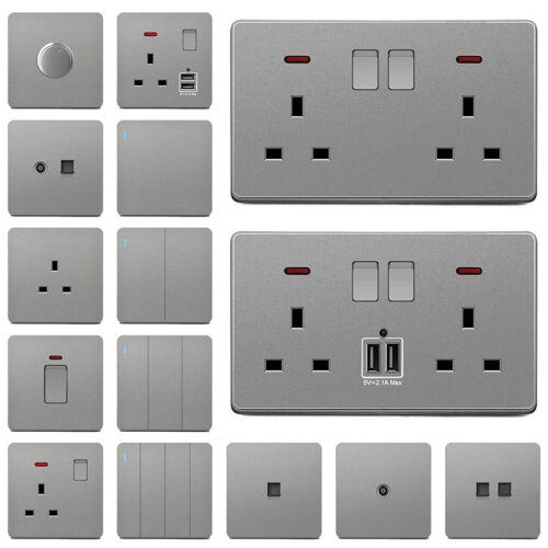 Switches, Sockets & Consumables